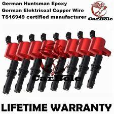 Heavy Duty Pack 8 Ignition Coils For Ford F-150 250 Explorer 4.6/5.4L V8 DG511