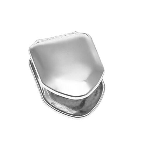 Cool Small Single Tooth Cap Hip Hop Metal Teeth Braces LG