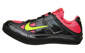 Nike Zoom HJ 3 lll High Jump Spikes Shoes Black Hyper Punch 317645-036 Sz 11 NEW