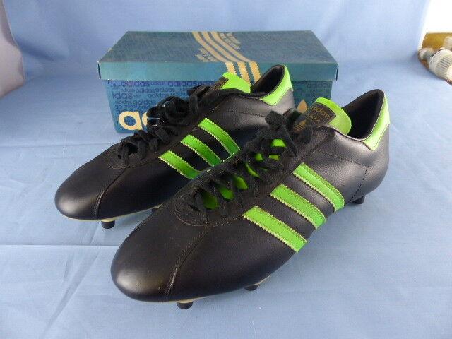 ADIDAS BAHIA anciennes shoes de football VINTAGE années 70     NEUVES 44 2