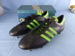 Détails sur ADIDAS BAHIA anciennes chaussures de football VINTAGE années 70 !!! NEUVES 45