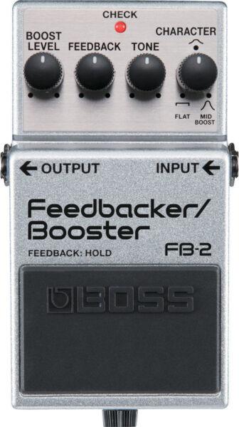 boss fb2 boost guitar effect pedal for sale online ebay. Black Bedroom Furniture Sets. Home Design Ideas