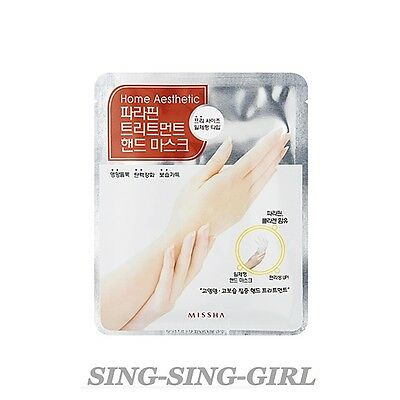 Missha Home Aesthetic Paraffin Treatment Mask Hand 1 pc sing-sing-girl