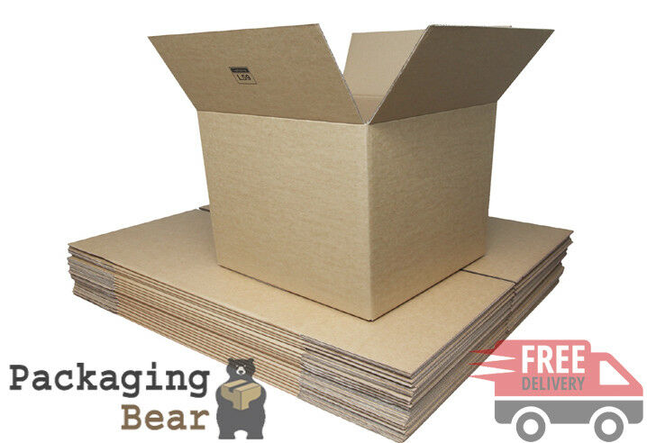 150 x 13x10x12  SINGLE WALL MAILING SHIPPING CARDBOARD BOXES   FREE 24HR P&P