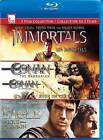 Immortals/Conan 3D/The Eagle (Blu-ray Disc, 2013, 3-Disc Set, Canadian)