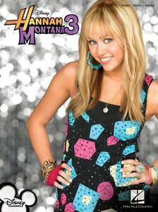 HANNAH-MONTANA-SONG-BOOK-NEW-PIANO-VOCAL-GUITAR-SHEET-MUSIC-SONGBOOK-ON-SALE