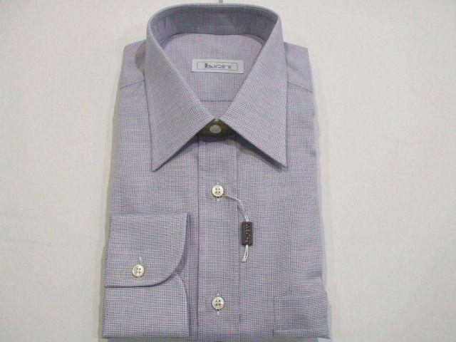NEW-BURINI-Dress Shirt  BRIONI 100%Cotton Size III Us 15.75 16 Eu 40 41 (Cod P)
