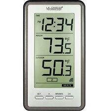 LA Crosse WS-9160U-IT-CBP Easy Read Digital Wireless Thermometer Indoor/Outdoor