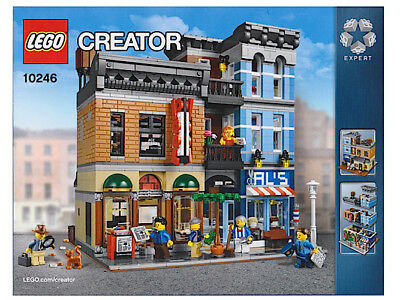 LEGO INSTRUCTION BOOK ONLY for Detective/'s Office 10246 NEW original Package