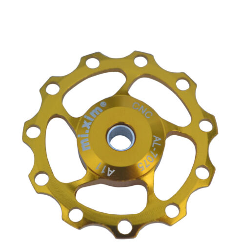 11T Jockey Wheel Gold CNC Bicycle Bike Derailleur Solid Pulley for Shimano Sram
