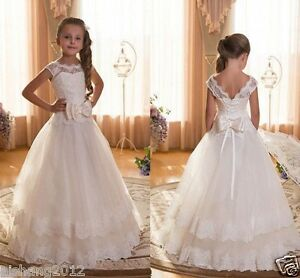 New Tulle Ball Gown Baby Girl Birthday Party Christmas Dresses