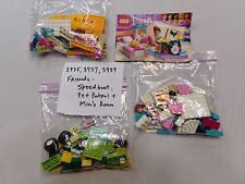 Lego Friends 3935 , 3937 , and 3939 - Speed Boat , Pet Patrol , and Mia's Room