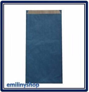 lot-10-pochettes-cadeau-papier-enveloppe-kraft-bijoux-12x4x21-bleu-neuf