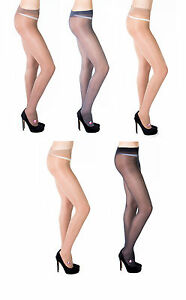 Exclusive-T-Band-Tights-By-Sentelegri-40-Denier-Size-S-M-L-XL-5-Various-Colo
