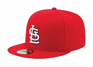 New-Era-59Fifty-MLB-Cap-St-Louis-Cardinals-AC-On-Field-Fitted-Game-Hat
