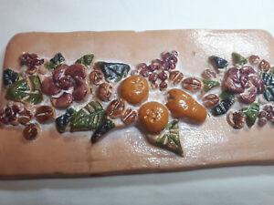 Paese-di-argilla-dipinti-a-mano-inserto-da-cucina-piastrelle-muro