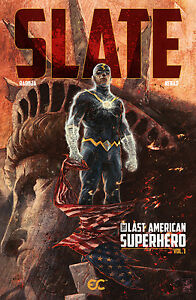 Slate: The Last American Superhero Vol. 1 (signed by artist!), GN, Radoja, Nenad