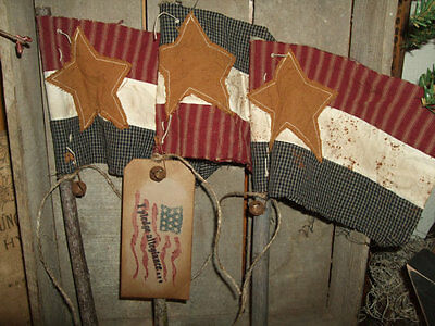 Primitive Flags & Star Pokes (SPECIAL ORDER for Lisa)