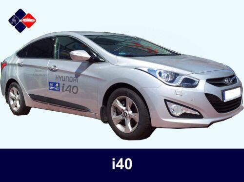 Hyundai i40 Rubbing StripsDoor ProtectorsSide Protection Mouldings Kit
