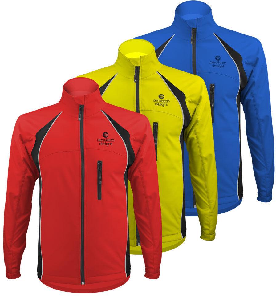 Aero Tech Designok Szélálló, vízálló, téli termál kerékpározási kabát