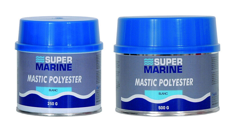 MASTIC POLYESTER FINISH BOX 2.2lbs SUPERMARINE