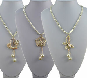 31-034-CREAM-GLASS-PEARL-NECKLACE-WITH-HEART-ROSE-OR-BUTTERFLY-DROP-CHARM-PENDANT