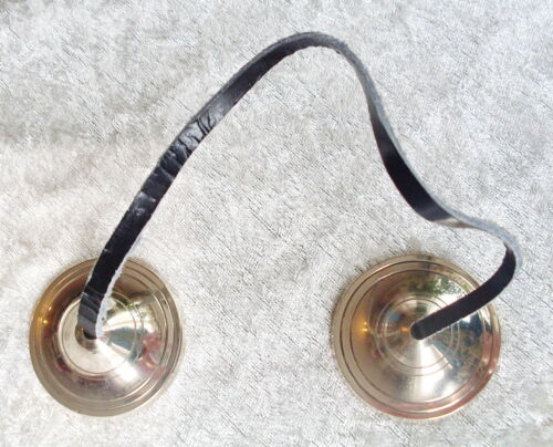 FAIR TRADE NEPALESE TIBETAN MINI TINGSHA CYMBALS CHIMES FENG SHUI SPACE CLEARING