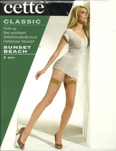 Questa voce Classic SUNSET BEACH 9 DENARI Reggi Calze-Varie Taglie e Colori