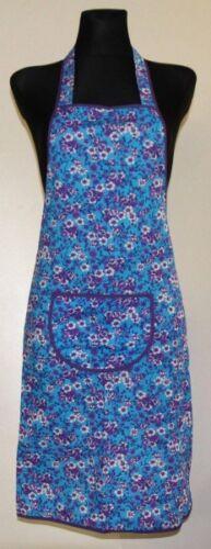 Support tablier latzschürze tablier gril tablier kochschürze coton bleu fleurs
