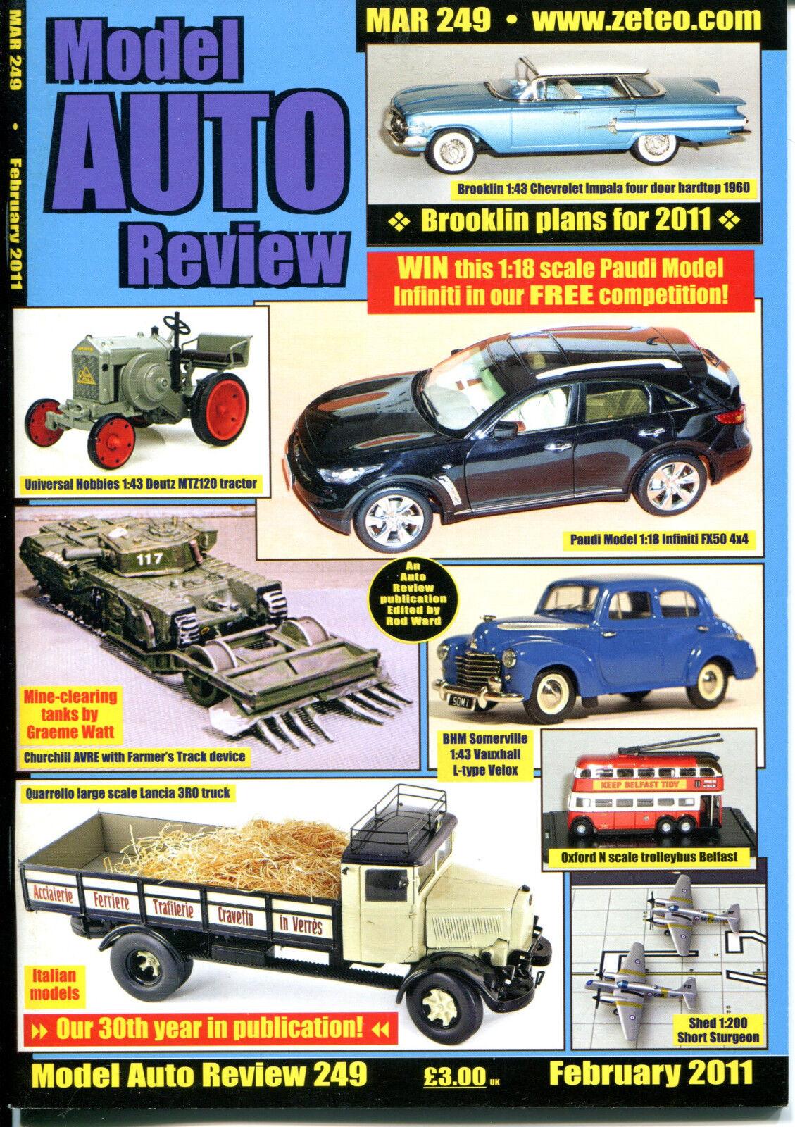 modello AUTO REVIEW (MAR) Magazine  (2011) specialee Bundle Offer - 9 nuovo ISSUES   costo effettivo