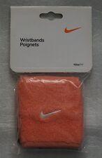 NEW Nike Women's NikeFit Wristbands Tennis Pink Small AC1609-805