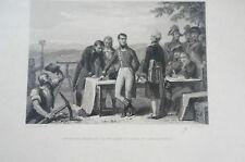 Druck Buchseite Napoleon indiquant le percement du canal de Saint-Quentin (N163)