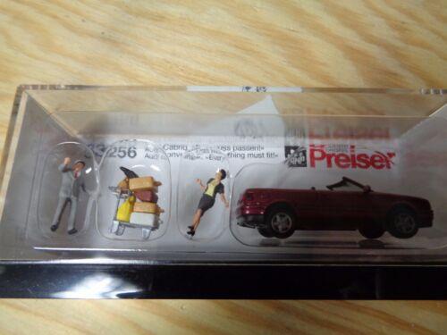 """OVP modello finito H0 Preiser 33256 AUDI CABRIO/"""" questo deve adattarsi!/"""""""