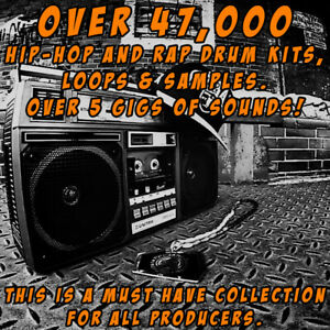 Details about HIP HOP AND RAP DRUM KITS, Loops & Samples over 5 gigs of  sounds