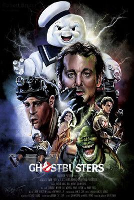 Art Poster Ghostbusters 1984 Movie 36 27x40inch Wall Silk N763