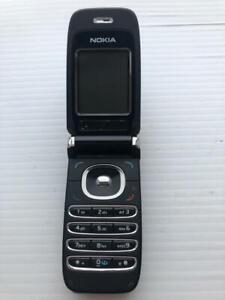 Nokia 6061 Black Flip Phone ASIS - Fast Shipping!