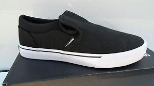 SUPRA-CUBA-Schuhe-Sneaker-Freizeit-Skater-Schuhe-Schwarz-S92500-Sport-NEU-44-45