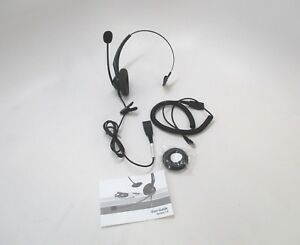 Yealink YHS33 Call Center Headset Noise Cancel w Quick Disconnect