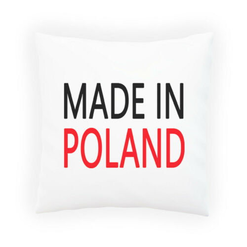 Cushion cover with Insert or Without i10p Made Poland Funny Decorative Pillow
