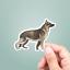 Laptop Sticker German Shepherd Vinyl Sticker Dogs Water Bottle Sticker