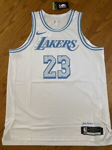 Nike 2021 Los Angeles Lakers Lebron James City Authentic Jersey   eBay
