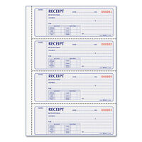 Rediform Money Receipt Book 2 3/4 X 7 Carbonless Duplicate 200 Sets/book 8l806 on sale