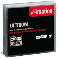 Imation Lto Ultrium 1 Cartridge 100/200gb (41089) (lto-1) -new