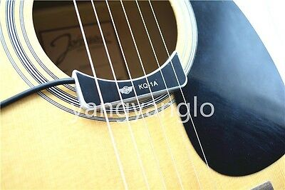 QH KQ-1A Acoustic Classical Guitar Pickup Ceramic Compact Soundhole Pickup