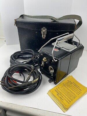 Vintage Biddle Megger Insulation Tester Meg Type 120v 21j Working Condition Ebay