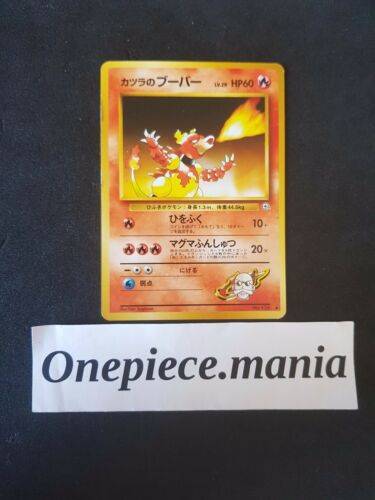 Japanese Pocket Mosters Pokemon Card Gym 2 Blaine/'s No 126 Magmar