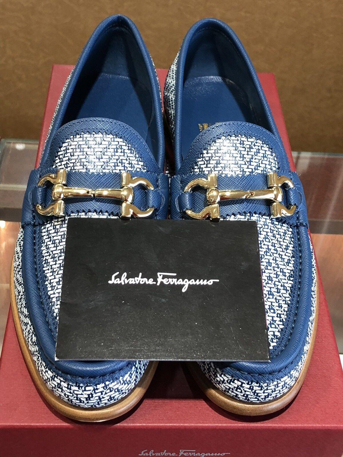 Salvatore Ferragamo Mason Twist 1 Cm Heal Women shoes Size 7.5