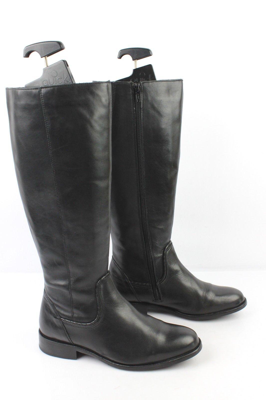 Stiefel DIANELA MORI Vollleder guter schwarz t 37 sehr guter Vollleder Zustand b5bd40