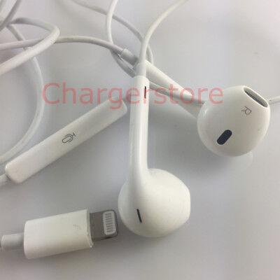 Original Apple Earpods With Lightning Connector Headphone Mic For Iphone 7 Plus Ebay
