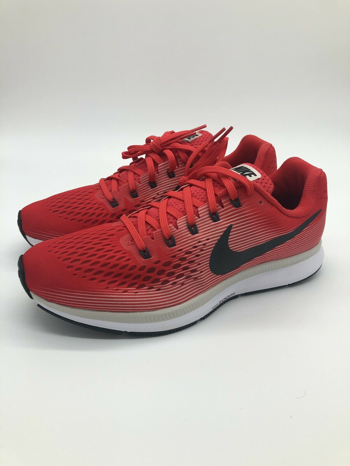 Nike Air Zoom Pegasus 34 - SIZE 8.5 880555-602 Gym Red White Crimson